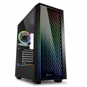 CAJA ATX SHARKOON LIT 200 RGB