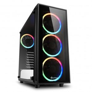 CAJA ATX SHARKOON TG4 RGB
