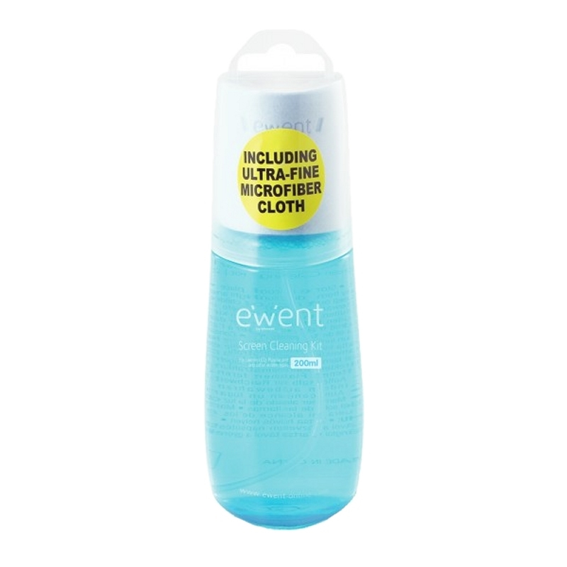 EWENT EW5671  SPRAY DE LIMPIEZA DE 200ml + gamuza