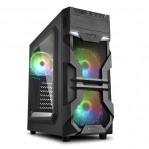 CAJA ATX SHARKOON VG7-W RGB