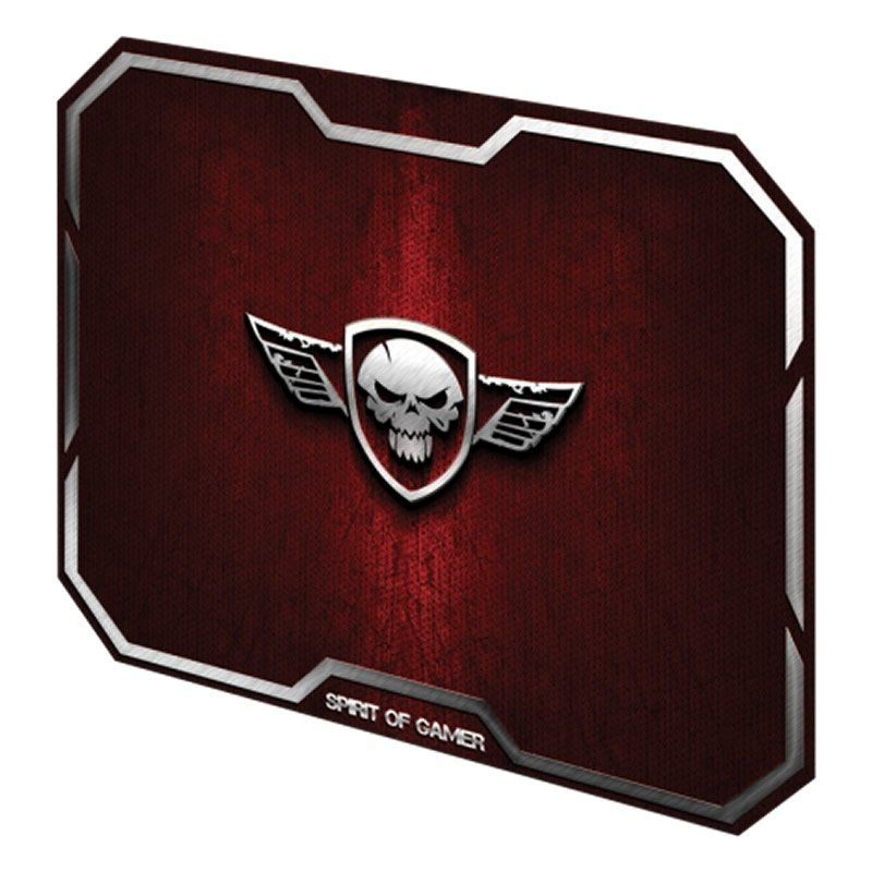 Alfombrilla Spirit of Gamer Winged Skull M/ 296 x 236 x 3mm/ Roja
